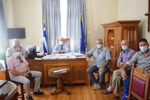 Σύσκεψη Περιφερειάρχη Κώστα Μουτζούρη με Δήμαρχο Μυτιλήνης και προέδρους χωριών Μόριας και όμορων κοινοτήτων