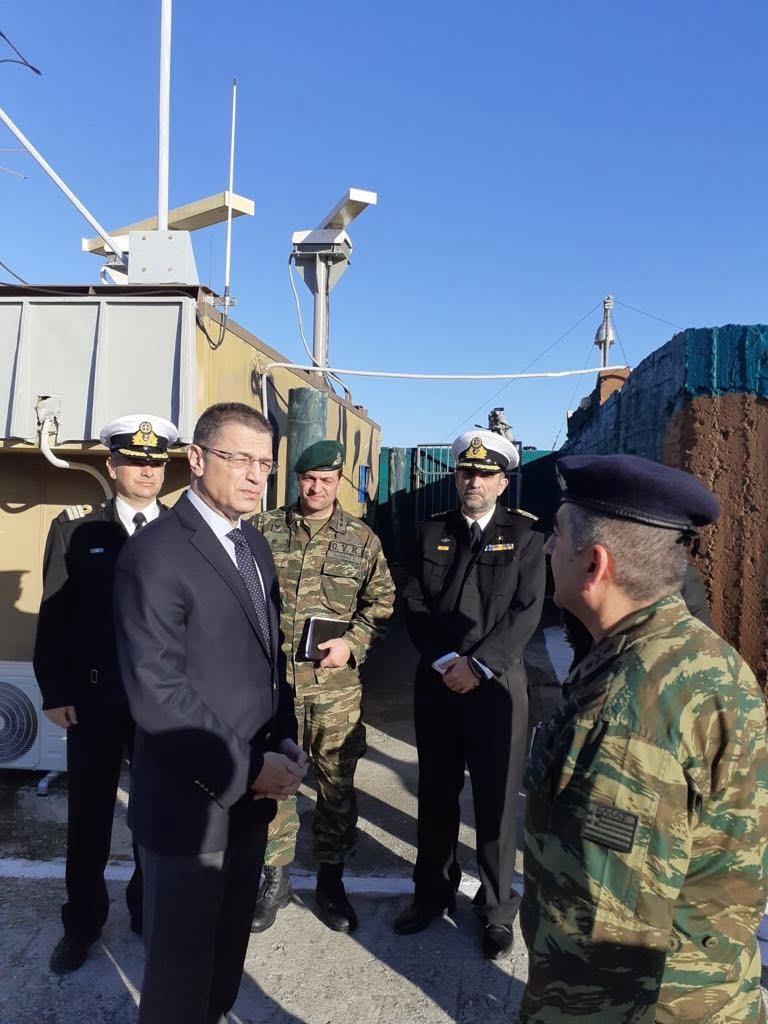 Επίσκεψη Αλκιβιάδη Στεφανή σε Ναυτικά Φυλάκια σε Λέσβο, Χίο και Σάμο
