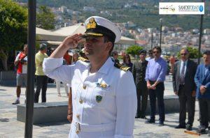 Αποχαιρετά τη Σάμο λόγω μετάθεσης ο Λιμενάρχης Αντώνης Ραπατζίκος