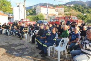 Συνεχίζεται η καμπάνια ενημέρωσης για την αντιπυρική περίοδο στον Δήμο Δυτικής Σάμου