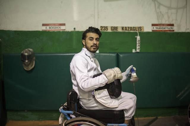 Η ξιφασκία σε αμαξίδιο δίνει ζωή και ελπίδα σε έναν πρόσφυγα από το Ιράκ