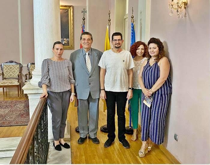 Επίσκεψη του προέδρου Ινστιτούτου Ανάπτυξης Πηλίου κ. Στέργιος Παπαϊωάννου στο Δήμο Ανατολικής Σάμου