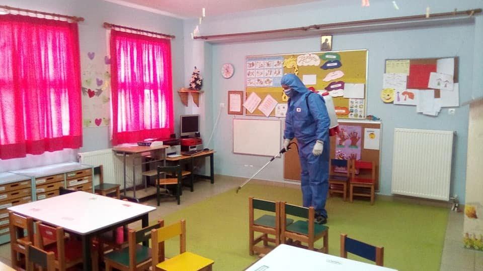 Έτοιμα τα σχολεία για την υποδοχή μαθητών στο Δήμο Δυτικής Σάμου