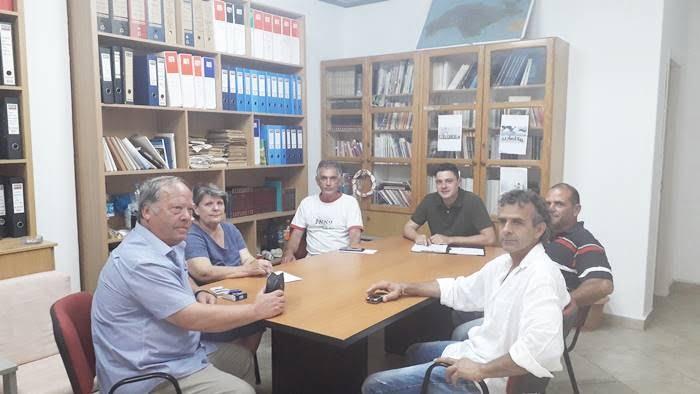 «Ανατροπή»: Επίσκεψη στην Άμπελο