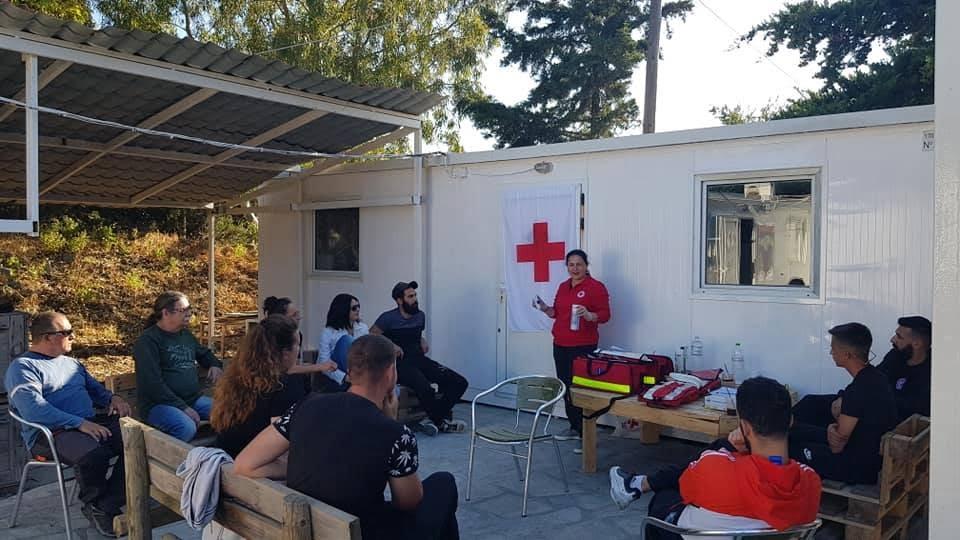 Δράσεις Αγωγής Υγείας από το Περιφερειακό τμήμα Ε.Ε.Σ. ΣΑΜΟΥ στα κλιμάκια εθελοντών  δασοπυροσβεστών του Δήμου Ανατολικής Σάμου