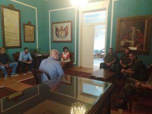 Εθιμοτυπική επίσκεψη του Αρχηγού ΓΕΣ Αντιστρατήγου Χαράλαμπου Λαλούση στον Δήμο Ανατολικής Σάμου