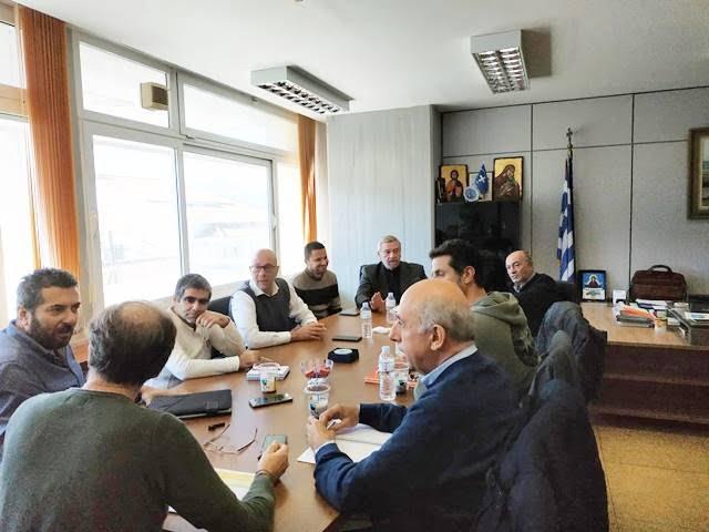 Σύσκεψη Αντιπεριφέρειας και Δήμου Ανατολικής Σάμου