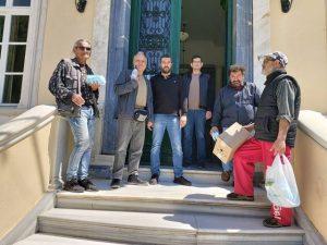 Υλικά προστασίας στους εργαζόμενους στο ΚΥΤ προσέφερε ο Δήμος Ανατολικής Σάμου