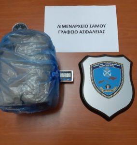 Σύλληψη 36χρονης ημεδαπής για κατοχή 983 γραμμαρίων κάνναβης στη Σάμο