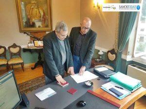 Ορκίστηκε Δημοτικός Σύμβουλος ο Δημήτρης Έλληνας