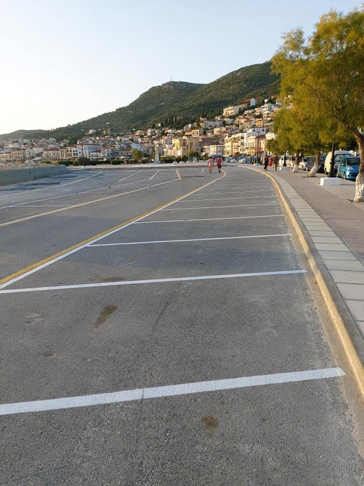 Ολοκληρώθηκαν οι εργασίες στο χώρο στάθμευσης της πλατείας Θεμιστοκλή Σοφούλη