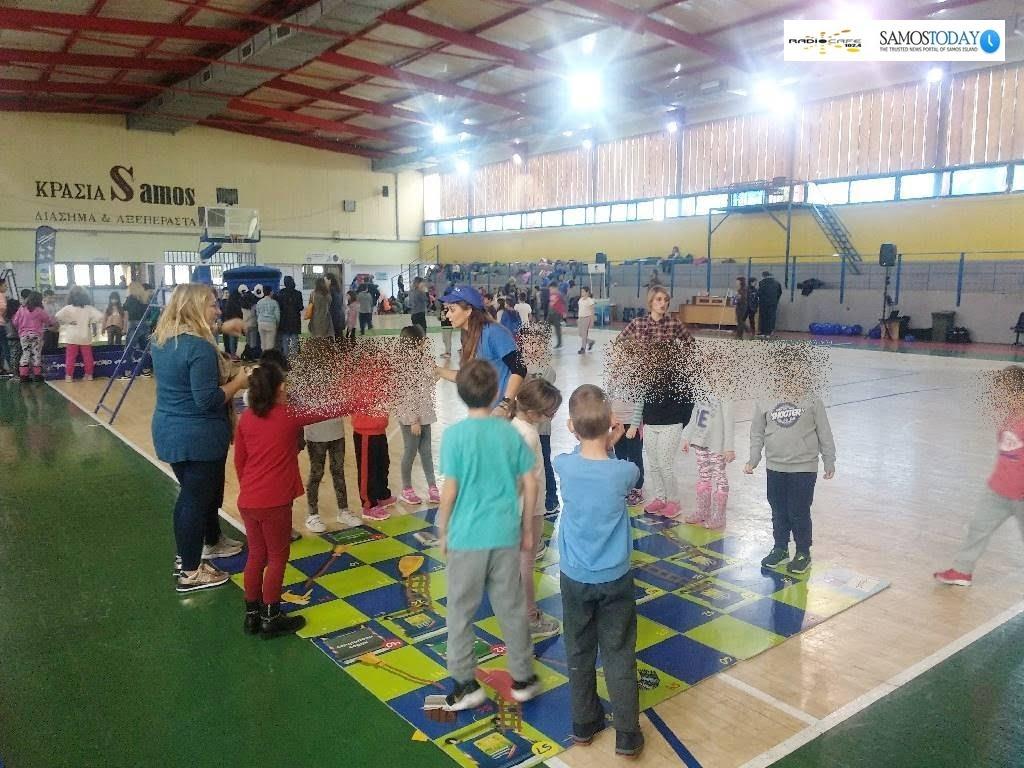 Εκδήλωση ανακύκλωσης στο κλειστό γυμναστήριο Βαθέος. Το «Λούνα Παρκ της Ανακύκλωσης»