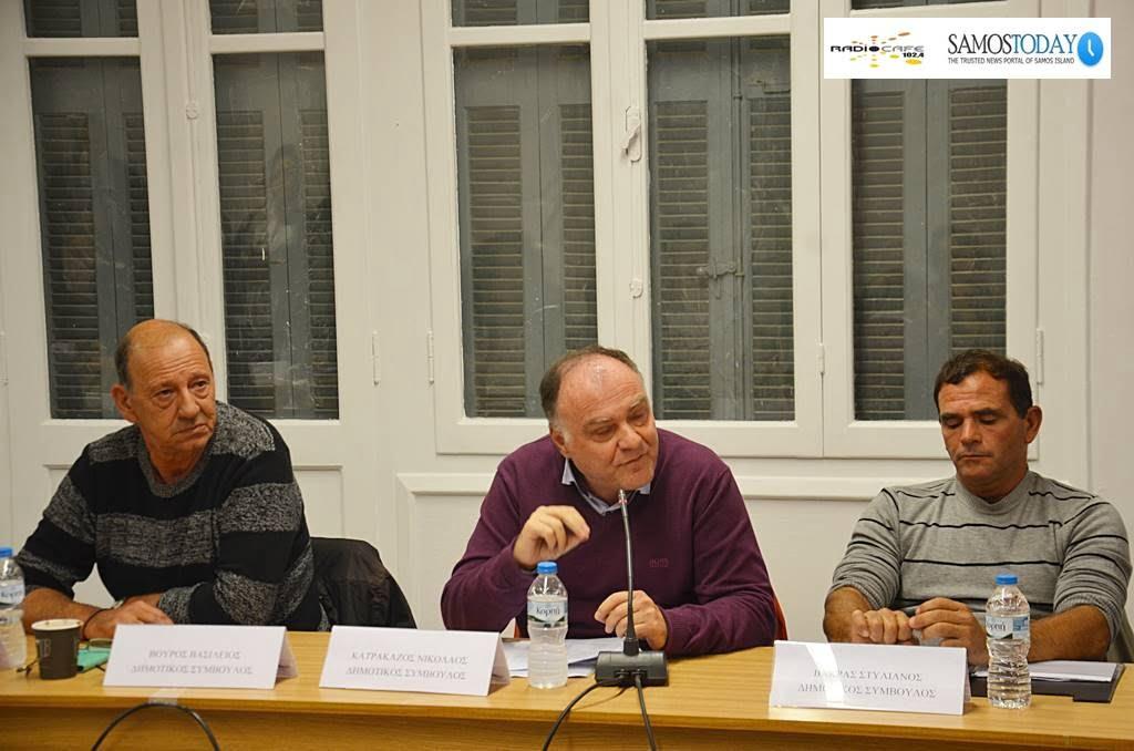 Νίκος Κατρακάζος: Είμαστε κάθετα αντίθετοι σε αυτό που λένε υπερκέντρο και σε μια λογική που λέει αποφασίζω και το εφαρμόζω διά της βίας»