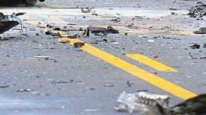 Τροχαίο ατύχημα στο Καρλόβασι με τραυματισμό αλλοδαπής