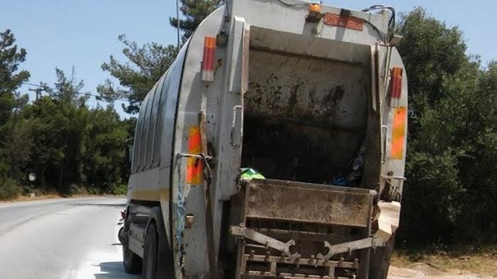 Αλλαγή δρομολογίου απορριμματοφόρου Δήμου Ανατολικής Σάμου λόγω βλάβης