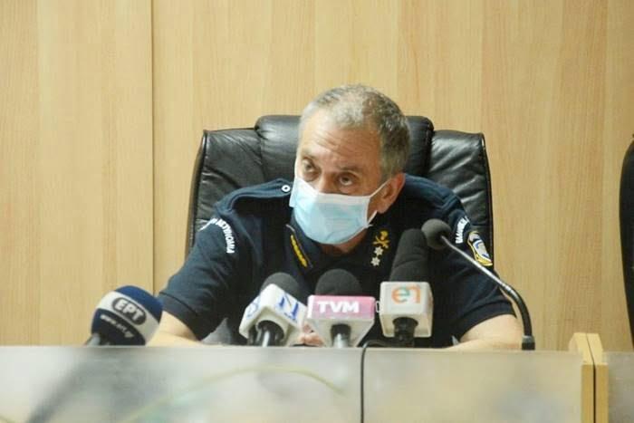 Υποστράτηγος ΕΛ.ΑΣ. Νουρουντούς: 5 συνολικά επιβεβαιωμένα κρούσματα στη Σάμο και 1.703 σε καραντίνα μέχρι 10 Αυγούστου