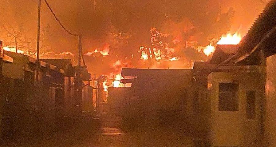 Κάηκε η δομή στη Μόρια. Εκκενώθηκε από 12.000 πρόσφυγες και μετανάστες. Έκτακτη διυπουργική σύσκεψη στο Μέγαρο Μαξίμου υπό τον Πρωθυπουργό Κυριάκο Μητσοτάκη