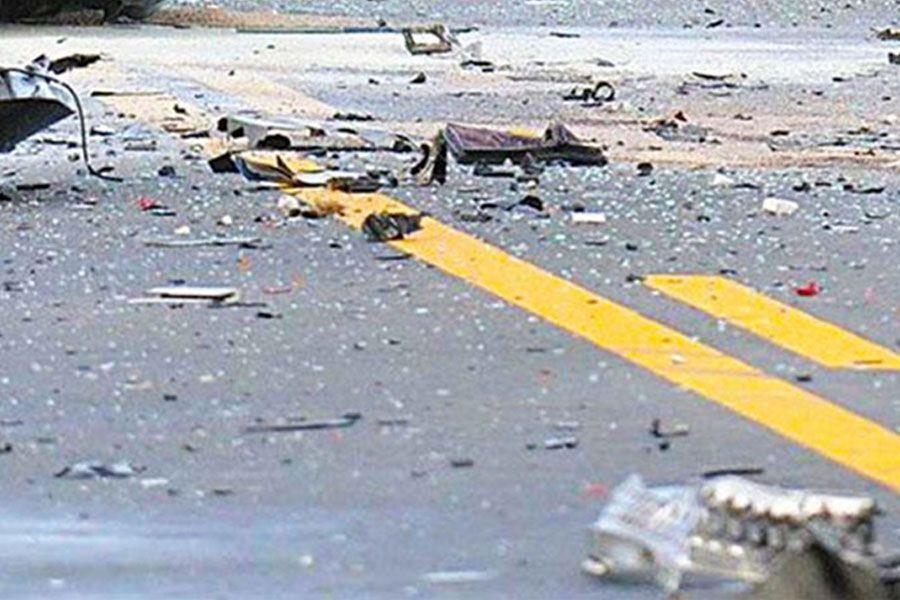 Τροχαίο ατύχημα στο Πυθαγόρειο με τραυματισμό αλλοδαπού