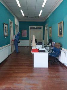 Προληπτικές απολυμάνσεις στον Δήμο Δυτικής Σάμου