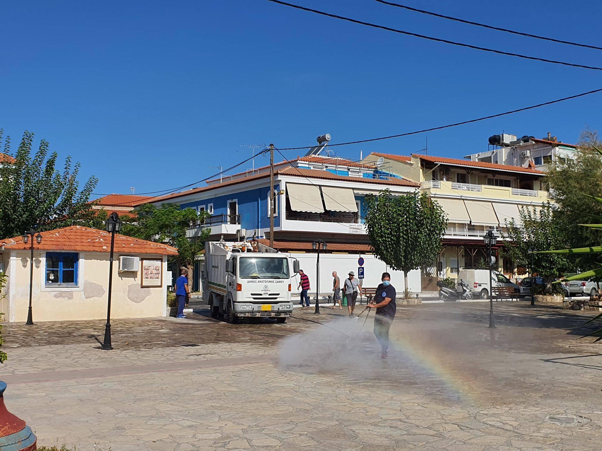 Συνέχεια απολυμάνσεων στον Δήμο Αν. Σάμου. Γιώργος Στάντζος: Άμεσα, χθες.. υγειονομική ενίσχυση του νησιού μας πριν να είναι αργά...