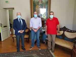 Επίσκεψη του Προέδρου της Ε.Α.Α.Σ Αντιστρατήγου Σταύρου Κουτρή στη Σάμο και συνεργασία με φορείς