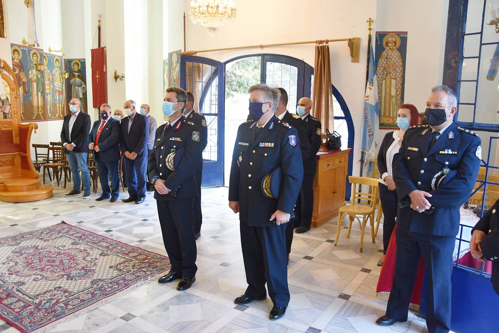 Εορτασμός της Ημέρας της Αστυνομίας και του προστάτη του Σώματος Αγίου Αρτεμίου