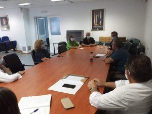 Συνάντηση κλιμακίου ΕΟΔΥ με τον Διοικητή και ιατρικό προσωπικό του Γενικού Νοσοκομείου Σάμου