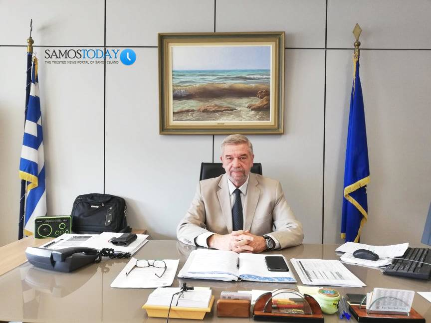 Βασίλης Πανουράκης: «Όλοι λίγο – πολύ, είτε Νομάρχες είτε Αντιπεριφερειάρχης, έβαλαν το λιθαράκι τους για να πάνε μπροστά τα νησιά μας»