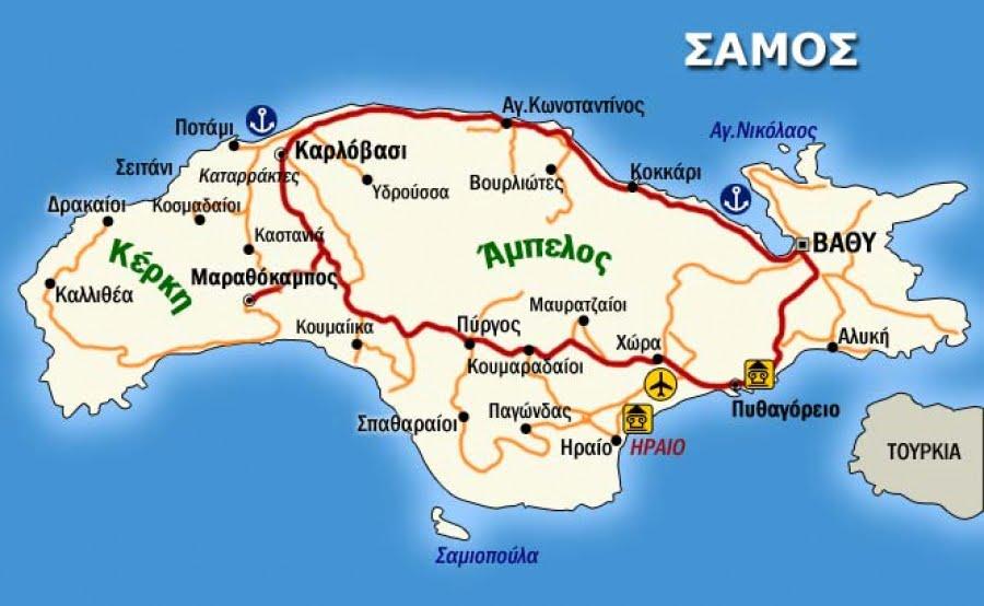 Κορωνοϊός: Οι εννέα περιοχές της Ελλάδας με βαρύ επιδημιολογικό φορτίο. Και η Σάμος μέσα σ' αυτές