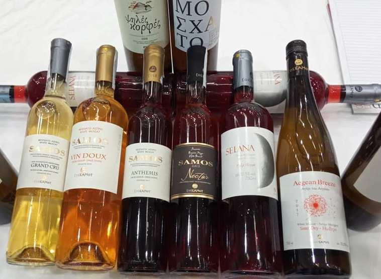 Βραδιά wine pairing με κρασιά του ΕΟΣ Σάμου: 3 Οκτώβρη 2020