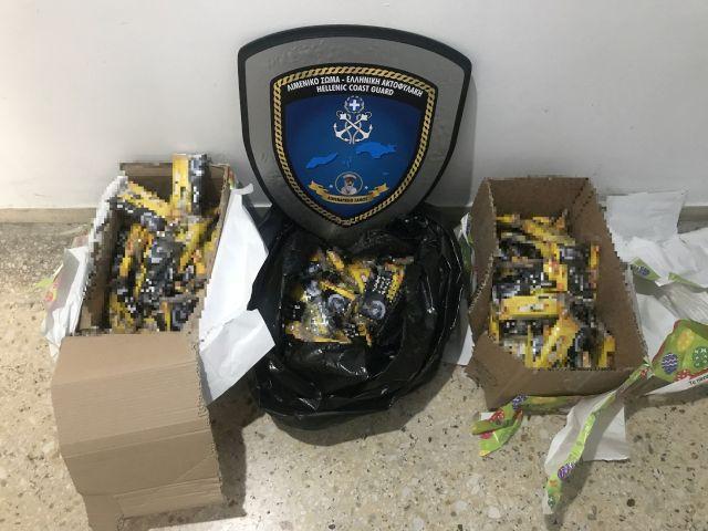 Εντοπισμός και κατάσχεση λαθραίων καπνικών προϊόντων σε αποθήκη εταιρείας ταχυμεταφορών στο Καρλόβασι. Δεν εμφανίστηκε ο παραλήπτης