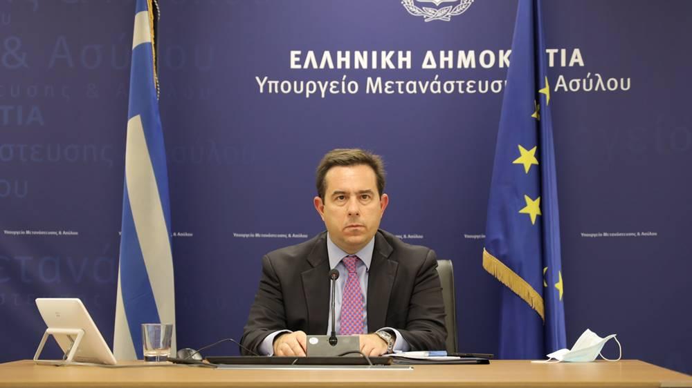 Ν. Μηταράκης: «Έχουμε υποχρέωση να προστατεύσουμε τα θεμελιώδη δικαιώματα των χωρών μας, των πολιτών μας και των νόμιμων κατοίκων μας»