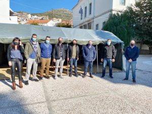 Επίσκεψη Προέδρου του Συλλόγου Πολιτικών Μηχανικών Ελλάδος στη Σάμο