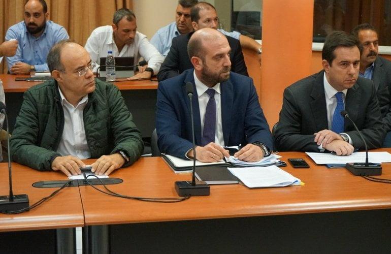 Πρώτη συνεδρίαση Ομάδας Εργασίας για το κλείσιμο των ΚΥΤ και τη λειτουργία νέων κλειστών/ελεγχόμενων δομών σε Σάμο και Λέρο