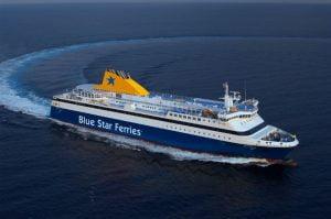 Ο Δήμος Ανατολικής Σάμου ευχαριστεί τη Ναυτιλιακή εταιρεία BLUE STAR FERRIES