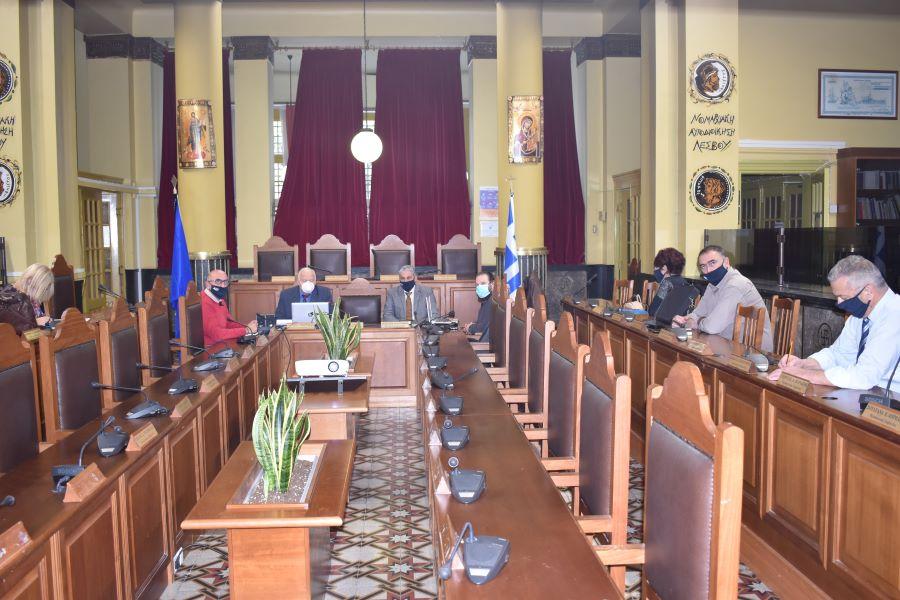 Σύσκεψη για την διαχείριση της Πανδημίας στα νησιά του Βορείου Αιγαίου