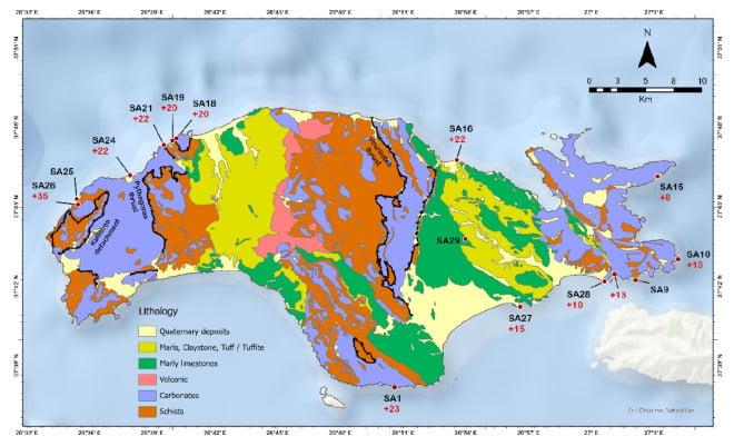 Πόσο μετακινήθηκε το νησί της Σάμου μετά τον φονικό σεισμό του 2020