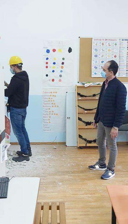 Την Πέμπτη (14/01) λειτουργεί το Δημοτικό σχολείο Αγίου Κων/νου και τη Δευτέρα (18/01) το Δημοτικό σχολείο Παγώνδα
