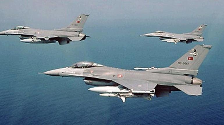 Υπερπτήσεις Τουρκικών F-16 σε Στρογγύλη και Ανθρωποφάγους