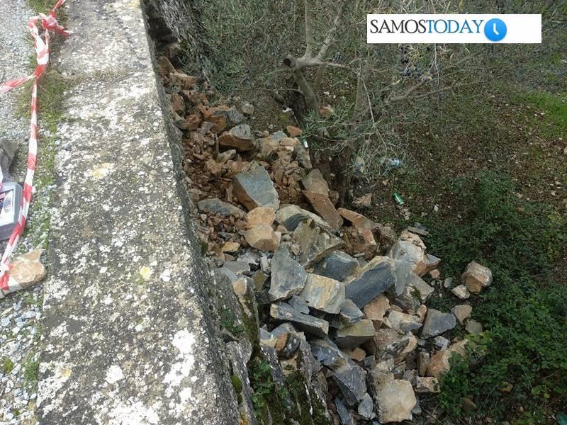 Επικίνδυνος ο δρόμος που οδηγεί στο Μοναστήρι της Αγίας Ζώνης