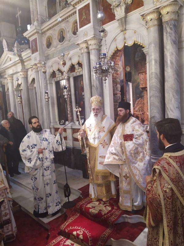 Χειροτονία του Διακόνου π. Πορφυρίου, Μοναχού της Ιεράς Μονής Τιμίου Σταυρού Σάμου
