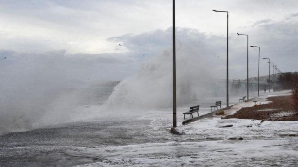 Επικίνδυνη επιδείνωση του καιρού σε Βόρειο και Ανατολικό Αιγαίο