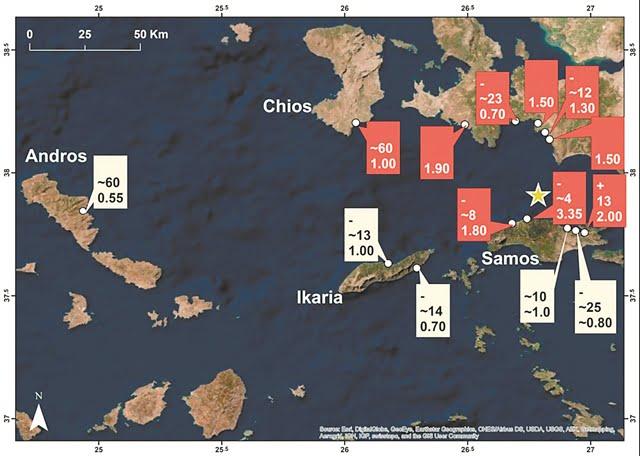 Έσπασε ρεκόρ το τσουνάμι της Σάμου – Το μεγαλύτερο στη Μεσόγειο τα τελευταία 65 χρόνια