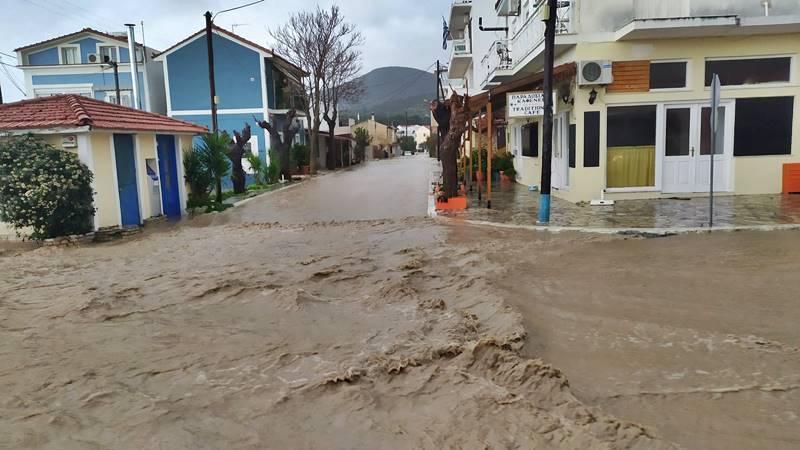 ΠΕ Σάμου: Καταγραφή ζημιών για επιχειρήσεις που επλήγησαν από το πλημμυρικό φαινόμενο την 1η και 2η Φεβρουαρίου