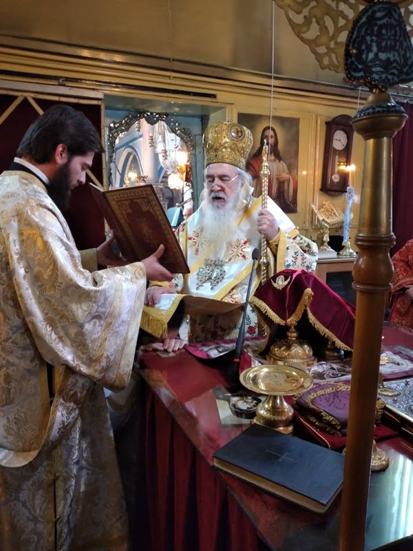 Χειροτονία νέου Πρεσβυτέρου στον Ιερό Ναό Γεννήσεως του Χριστού Παλαιού Καρλοβασίου Σάμου
